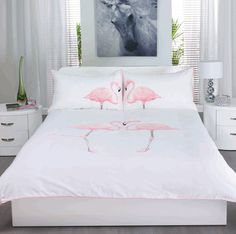 Dwell Flamingo bed linen... dorm dorm dorm, yes yes yes
