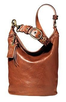 COACH BLEECKER WHISKEY TAN BURNISHED LEATHER XL DUFFLE TOTE # 11423