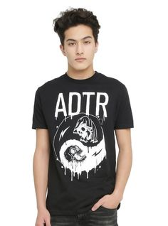d687027f7 Fashion Men s T-Shirt Printed T-shirt men A Day To Remember ADTR Yin-Yang T- Shirt