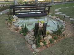 1000 images about yard ideas on pinterest rock for Nautical themed backyard