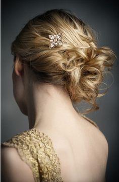 pretty wedding style hair. . . #ghdSecrets