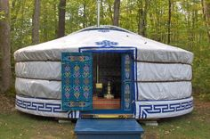 ..if I only had a yurt.
