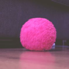 The Mocoro Robot Cleaning Ball is shrouded in a microfiber fur and rolls around your home picking up dust, changing direction whenever it hits an object.