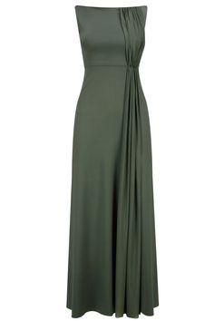 Neeta Lulla Moss green pleats gown available only at Pernia's Pop-Up Shop.