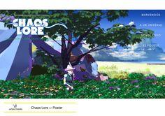 https://flic.kr/p/riz54S | Chaos Lore ::: Poster | Diseñado con SketchUp, Adobe Illustrator y Adobe Photoshop.