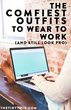 i always wonder what to wear to work or when i work at home. these clothes to wear to work are perfect!