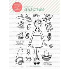 Stamp Ideas for Essentials by Ellen Releases
