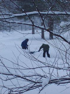 Shoveling Snow