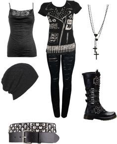 Emo outfit
