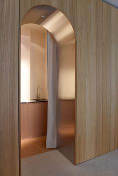 Ideas For Kitchen Interior Details Woods Arch Interior, Interior Architecture, Interior And Exterior, Copper Interior, Exterior Design, Modern Kitchen Design, Modern Interior Design, Door Design Interior, Modern Interior Doors