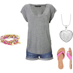 summer, created by ltlang on Polyvore