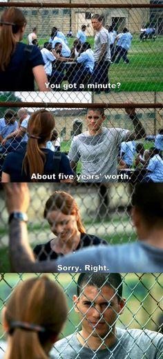 Prison Break S01E06 Michael & Sara.