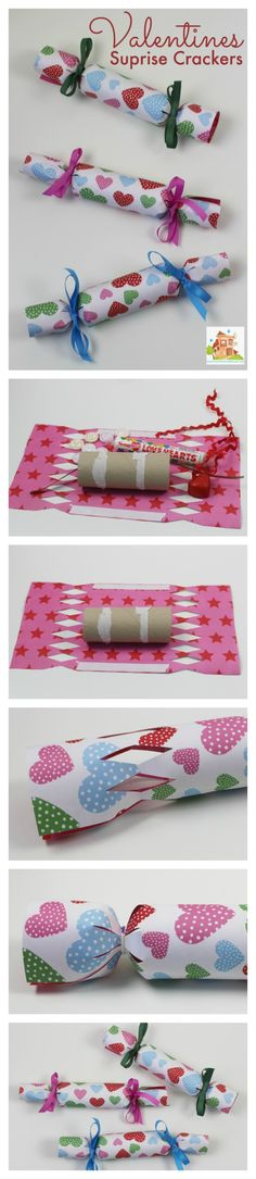 How to make Valentines surprise crackers - Mum In The Madhouse- Mum In The Madhouse