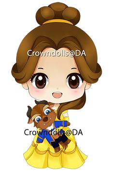 BELLE-BEAST by crowndolls on deviantART