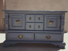 DIY Chalk Paint Refinished Distressed Brenda Marie Designs