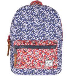 Herschel Supply Blue Settlement Liberty Print Backpack