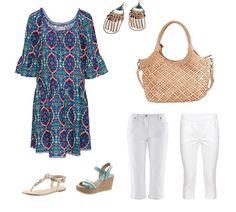 Outfit, Polyvore, Fashion, Tunics, Outfits, Moda, Fashion Styles, Fasion, Kleding