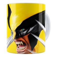 Caneca Personalizada Wolverine Art