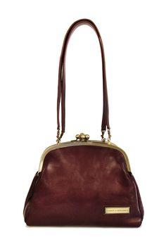 Four-clasp Shoulder Bag//