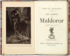 Les chants de Maldoror par le comte de Lautréamont