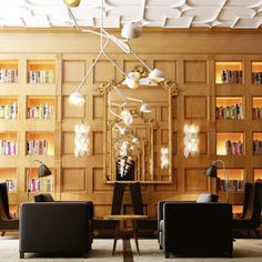 Only You Hotel & Lounge, Madrid August travel news: editor's picks Modern Interior Design, Interior Architecture, Design Interiors, Modern Interiors, Interior Ideas, Boutique Hotel Madrid, Estilo Colonial, Restaurants, Hotel Concept