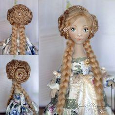 Косички))) #куклытомашевскойирины Кукла продаётся. Подробности по ссылке в профиле или viber, whatsapp, sms +79127752258