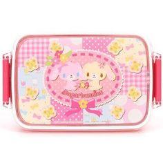 Sanrio Sugarbunnies Pink Bento Lunch Box