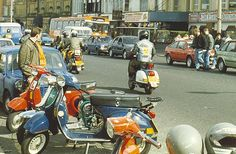 Morecambe sea front, Scooter Rally 1987 | by Gidzy