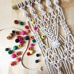 NEW MACRAME & BEADS Workshop!! Click the link in my profile for details and to snag your spot! Tickets are limited ➰➰