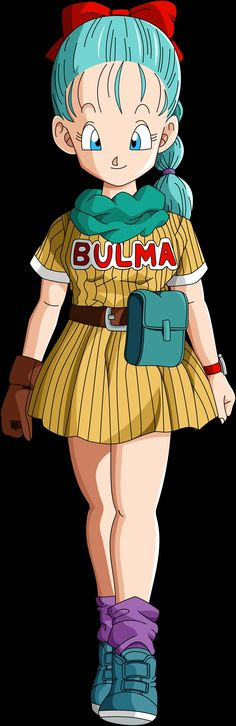 Bulma Brief  - Serie: Dragon Ball (1986-1989) FUNimation (EEUU) / Selecta Vision (España)