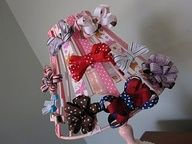 Cute idea for Hair Bow Storage