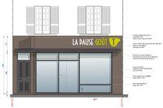 LPGT facade 01 Bane, Facade, Garage Doors, Outdoor Decor, Home Decor, Spaces, Decoration Home, Room Decor, Facades