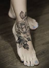 black rose tatto
