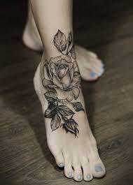 black rose tatto