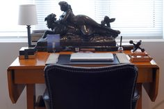 Roy Caro: Montreal, QC - traditional - home office - montreal - Esther Hershcovich