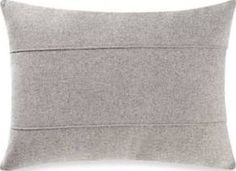Kenneth Cole Reaction Home Element Seamed Oblong Throw Pillow, Grey