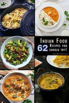 62 Indian food recipes you should try www.masalaherb.com #recipes #Indian