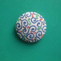 Swirls and Twirls Spirited Art, Swirls, Buttons, Creative, Artist, Fabric, Handmade, Tejido, Tela