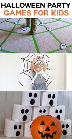 Halloween Party Games for the kids at the party!
