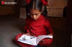 Malati attends a reading camp in Nepal to read stories, draw pictures, and learn new songs and words.     In Save the Children's Literacy Boost Program, children, like Malati, develop an interest for reading and improve their literacy skills. Read more about the program here:http://www.savethechildren.org/site/c.8rKLIXMGIpI4E/b.7084483/?msource=wespiedu0713