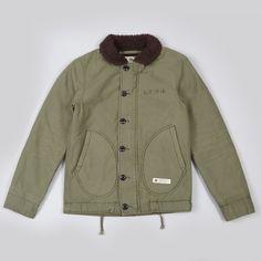 Neighborhood N-1D Deck Jacket - Olive