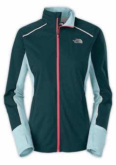 North face running jacket isolite for women. What winter running clothes to wear? Best running jackets for cold weather running gear. Running tips for beginners for outfit. Good jacket important part of training plan essentials to get with layers, headband, beanie, hat, shoes, pants, thermal tights, leggings, wool socks. Running accessories for women and men. Cute stylish running outfit with blue, pink, northface. #running #runningtips