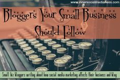 Bloggers Your Small