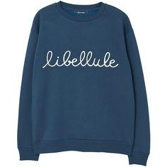 MANGO Message Cotton Sweatshirt ($40) ❤ liked on Polyvore featuring tops, hoodies, sweatshirts, patterned sweatshirt, patterned tops, glitter top, round top and embellished sweatshirt