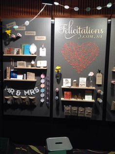 Expo pegboard display