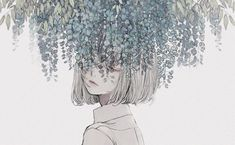 Image discovered by ◇FT GK◇. Find images and videos about art, anime and flowers on We Heart It - the app to get lost in what you love. Art And Illustration, Landscape Illustration, Art Illustrations, Arte Inspo, Kunst Inspo, Fantasy Kunst, Fantasy Art, Anime Art Girl, Manga Art