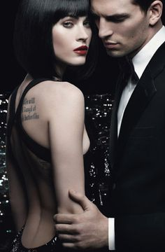Evening under the stars  {The Armani Code}  femme fatale