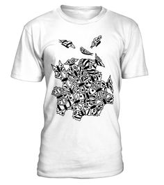 # Butterfly tessellation jr. ragl - Tshirt .  Butterfly tessellation jr. ragl - Tshirt