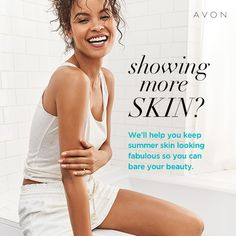 Formulas with oils are designed to act like skin's naturals oils, helping replenish nourishing moisture for the look and feel of soft skin, touchable skin. Summer Highlights, Avon Skin So Soft, Bare Beauty, Body Powder, Summer Skin, Feet Care, Good Skin, Natural Skin, Healthy Skin