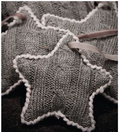 Repurpose old sweaters. Stuff with cotton and add a drop of essential oil.